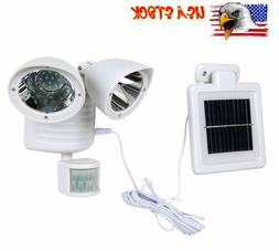 22LED Solar Spot Lights Outdoor Garden Landscape Lamp Detect