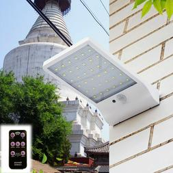 48LED Solar PIR Motion Sensor Outdoor Street Light Garden Se