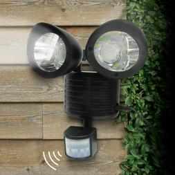Dual Security Detector Solar Spot Light Motion Sensor Outdoo