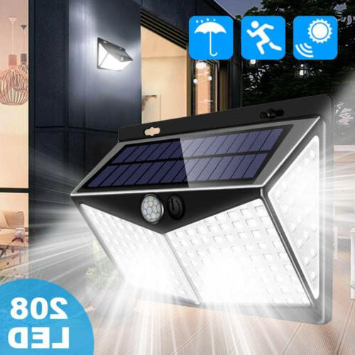 208 LED Power Light Motion Security Outdoor Lamp