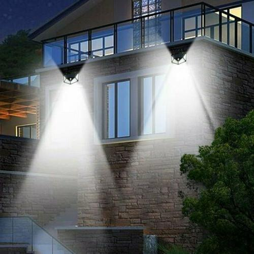 LITOM 100 LED Solar Power Sensor Wall Waterproof
