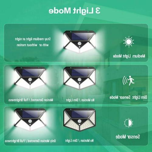 LITOM 100 Power PIR Wall Light Waterproof