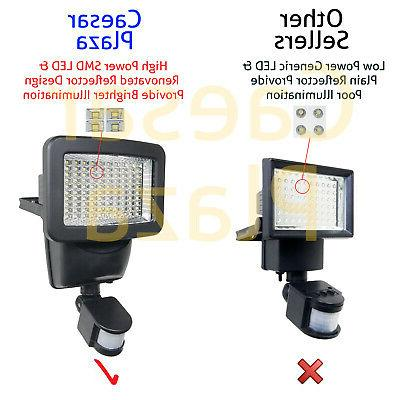 100 SMD Motion Security Light Outdoor Wall Detector Spot