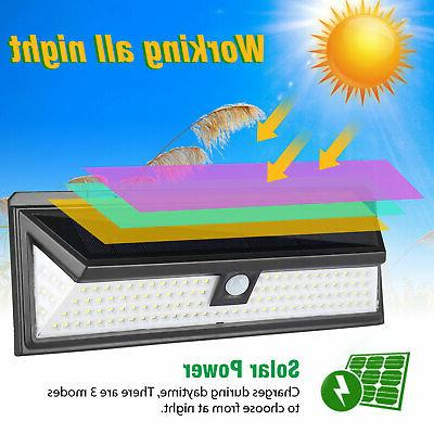 118 LED Waterproof PIR Motion Sensor Wall Light Lamp
