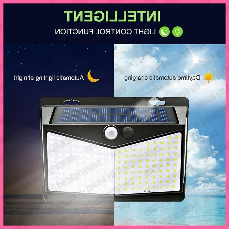 208 Sensor Solar Power Light