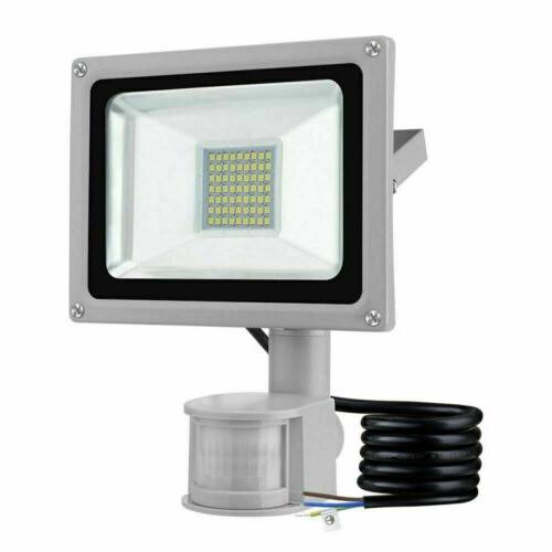 30W Motion LED Flood Outdoor Lights Security