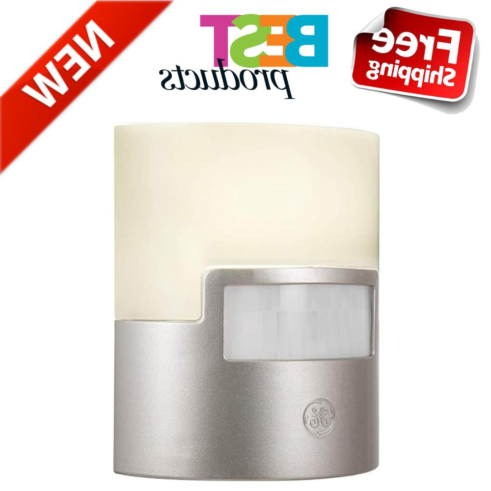 40 lm silver led night light motion