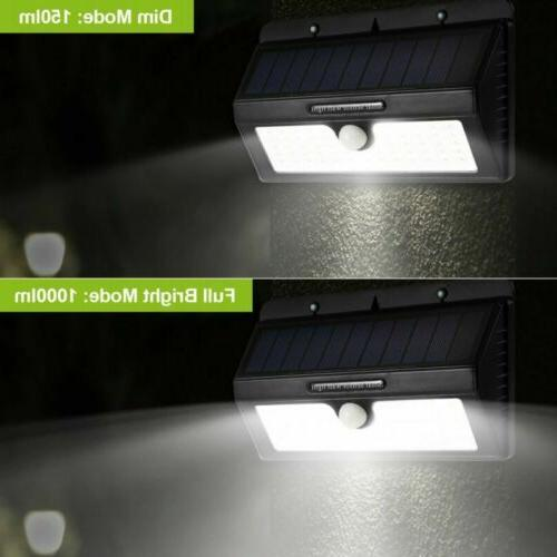 55LED Solar Motion Outdoor Path Lamp