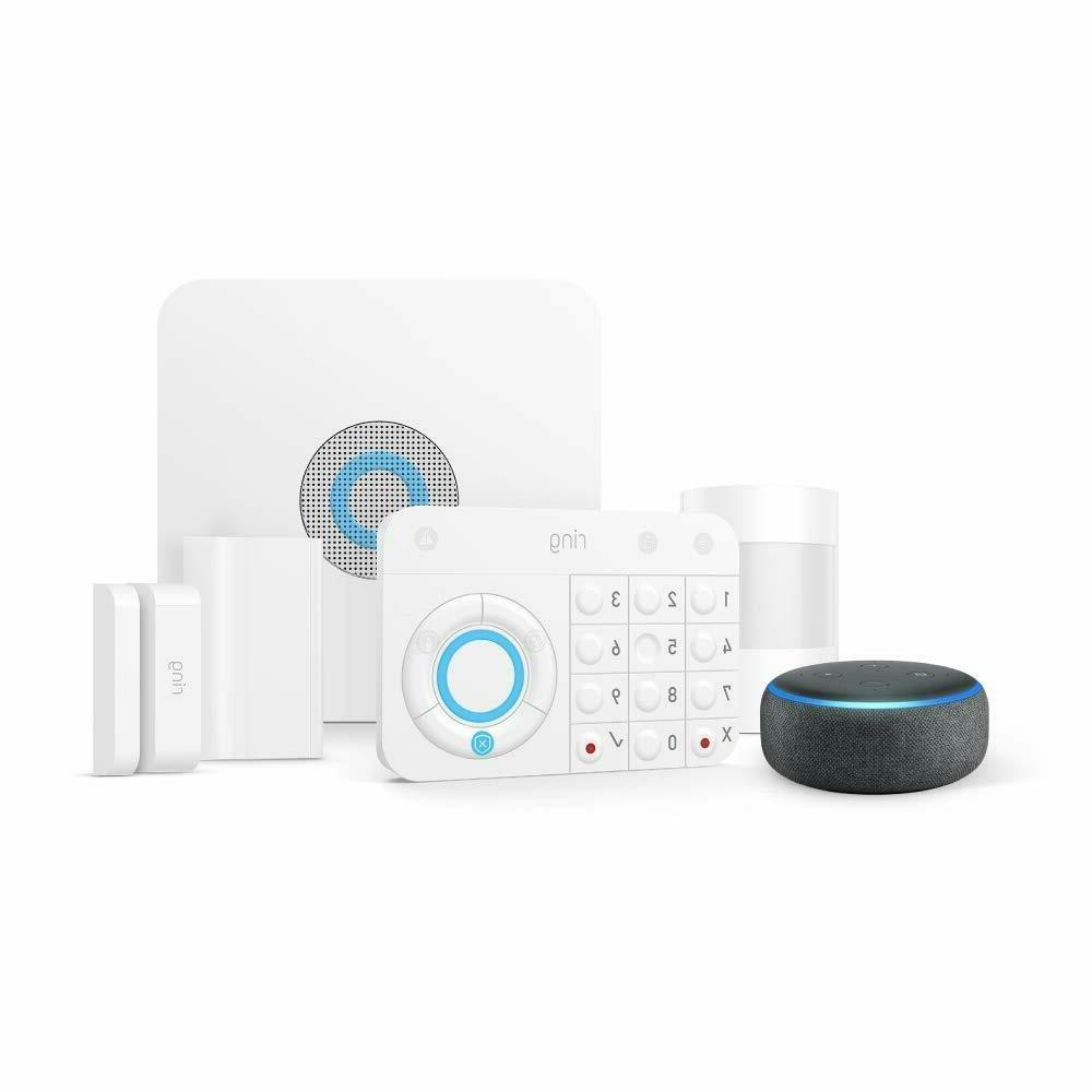 Ring Alarm 5 Kit Echo Works with