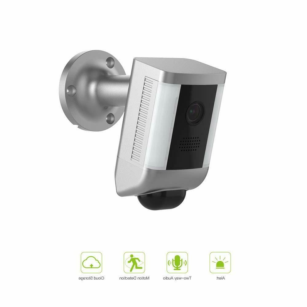 floodlight ip camera motion activated two waytalk