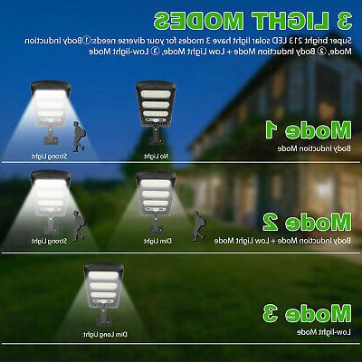 213LED Outdoor Wall Light PIR Motion Lamp Control