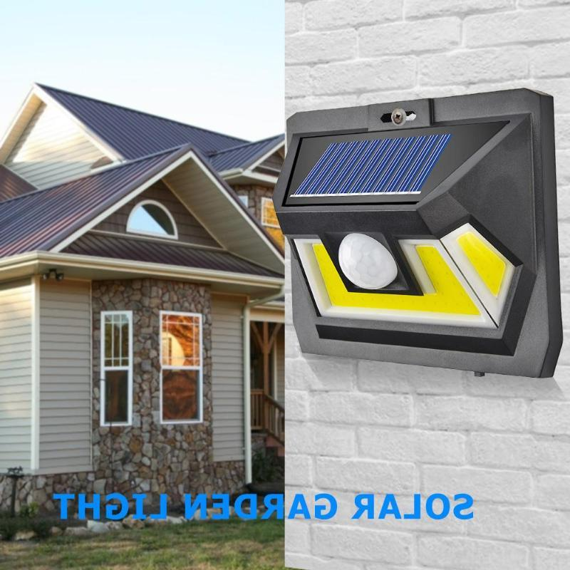 led cob solar powered lamp with motion