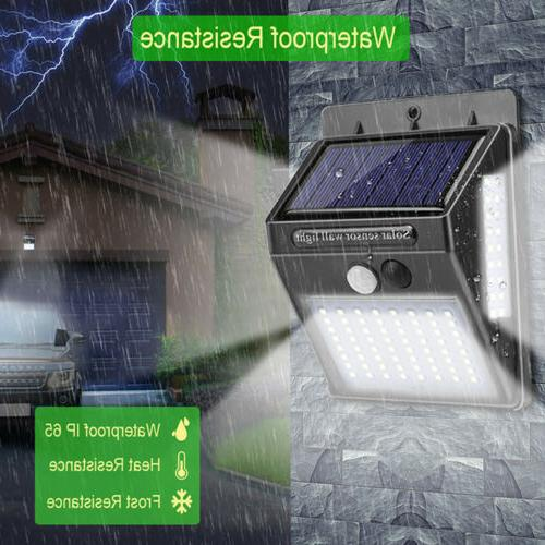 Outdoor LED Solar Lights PIR