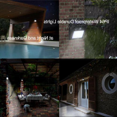 Outdoor 4 X Solar Wall Road Lights Power Sensor Yard Lamp