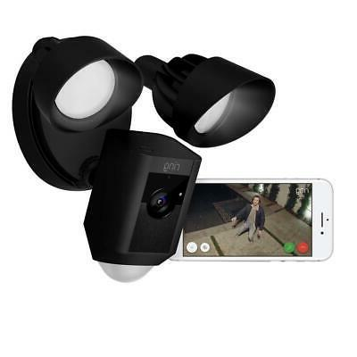 Outdoor Wi-Fi Surveillance Camera With Activate Floodlight