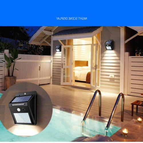 Outdoor X 20LED Solar Road Power Motion Yard Lamp