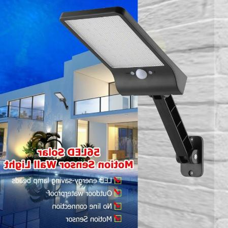 Solar Waterproof With Remote Control Motion Sensor