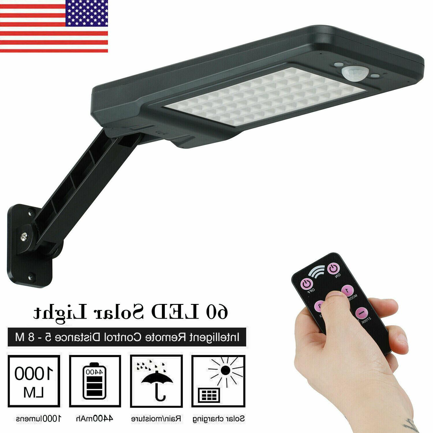 us 60 led solar dimmable wall street