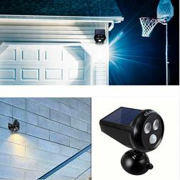 Solar Power Spot Light LED Motion Sensor Landscape Outdoor P