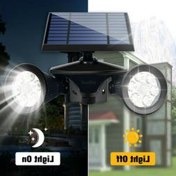 LED Solar Outdoor Garden Landscape Lamp Spot Light Path Wall
