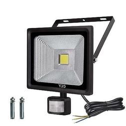 CLY 50W Motion Sensor Flood Lights Outdoor Security Floodlig