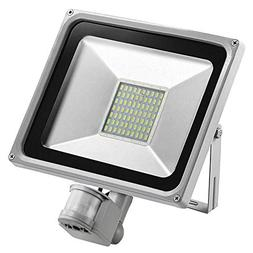 Fiesta 50W PIR Infrared Motion Sensor Flood Light 220V-240V