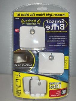 As Seen On TV Sensor Brite Motion Activated LED Lights , 6-p