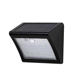 Carl Artbay Solar Lights Outdoor, with Motion Sensor 120° W
