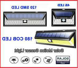 solar powered 46 120 180 leds 3d