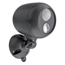 Wireless Led Spotlight With Motion Sensor And Photocell; Mr